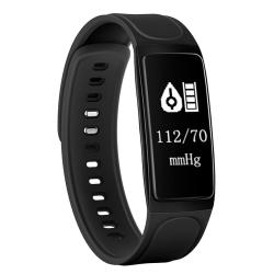 Chigu C7S Fitness Tracker 0.96 Inch Oled Screen Smartband Bracelet IP67 Waterproof Support Sports Mode Blood Pressure Sleep Monitor Heart Rate Monitor Remote Shooting Black