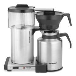 Technivorm Moccamaster Cdt Grand 1.8L Thermos Filter Coffee Machine - Silver