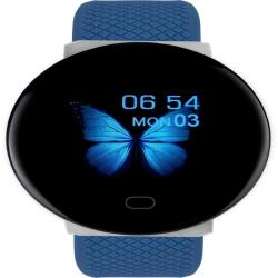 D19 1.3INCH Tft Color Screen Smart Watch Support Call Reminder heart Rate Monitoring blood Pressure Monitoring blood Oxygen Monitoring sleep Monitoring Blue