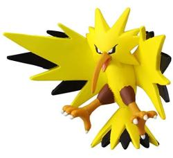"""Japan VideoGames Takaratomy Official Pokemon X And Y MC-051 2"""" Zapdos Action Figure"""