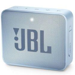 JBL GO 2 Portable Bluetooth Speaker in Cyan
