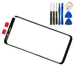 "Lcd Screen Front Outer Glass Lens For Samsung Galaxy S9 G960 5.8"" Touch Glass Panel Lens Screen Replacement With Tool Not Lcd &"