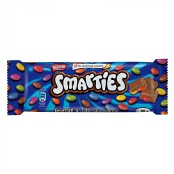 NESTLE Smarties White Chocolate Slab 80G | R13 49 | Chocolates and  Confectionery | PriceCheck SA