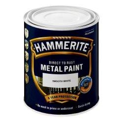 HAMMERITE Smooth Black Black 1 L