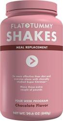 Flat Tummy Tea Shake 4 Week Meal Replacement Packs With Clinically Studied Garcinia Cambogia Chocolate 34.1 Ounce