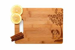 Krezy Case Wooden Engraved Cutting Board Home D Cor Love Birds Wedding Gifts For The Couple