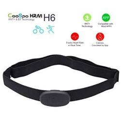 Coospo H6 Ant Bt V4.0 Wireless Sport Heart Rate Monitor Smart Sensor Chest Strap For Iphone 4S 5 5S 5C 6 6PLUS Ipad Wahoo Fitness Fitcare