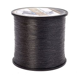 Hercules Braided Fishing Line 1000M 1094YDS 6LBS-100LBS Pe Dyneema 4 Strands Black 6LB 2.7KG 0.08MM