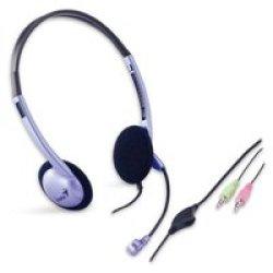 Genius HS-02B Stereo Headset Binaural Headset
