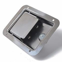 Thaomai- Stainless Steel Tool Box Motorhome Entry Dead Lock Latch&key&gasket