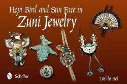 Hopi Bird And Sun Face In Zuni Jewelry