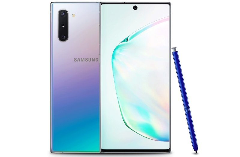 Samsung Galaxy Note 10 256GB in Aura Glow