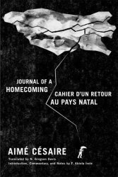 Journal Of A Homecoming Cahier D& 39 Un Retour Au Pays Natal Paperback