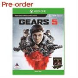 Xbox One Game - Gears Of War 5 Retail Box No Warranty On Software