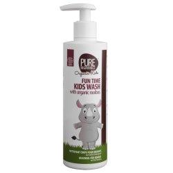 PURE BEGINNINGS - Fun Time Kids Wash With Organic Rooibos - White