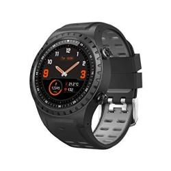 SMA-M1 Gps Sport Smart Watch Activity Tracker Fitness Watch For Men Heart Rate Monitor Watches Sleep Monitoring Smartwatch Gift For Father Black