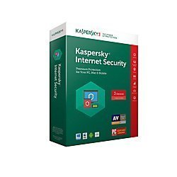 Kaspersky Internet Security 2017 For 3 Devices For Pc mac Product Key Card