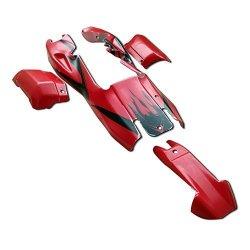 Yongkang Rovan Sports Co ,Ltd Top Speed Rc World Plastic Body Shell Cover  Red With Black Fit 1 5 Hpi Baja Rovan Km 5B   R2515 00   Dolls   PriceCheck