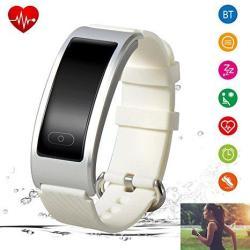 Fitness Tracker Waterproof Bluetooth Watch Heart Rate Activity Tracker Sleep Monitor Smart Wristband Bracelet Sport Pedometer Calorie For Iphone Samsung