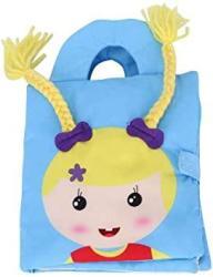 USA Yosoo Cartoon Three-dimensional Baby Cloth Books Baby Soft Books Soft Baby Cloth Books Suitable For Age 3-36 Month Early Education Development Girl