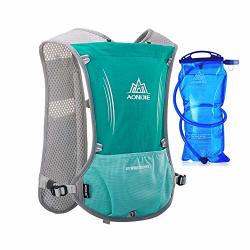 Aonijie Hydration Packs 5L With 1.5L Bladder Trail Running Vest Hydro Backpack Reservoir Marathoner