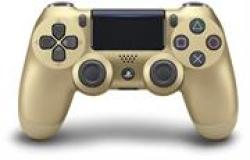 Sony Dualshock 4 Controller Gold Retail Box 6 Month Warranty