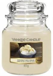Yankee Candle Coconut Rice Cream Medium Jar Retail Box No Warranty