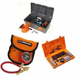 ARB CKMP12 505 10000011 High Performance 12 Volt Air Compressor With E-z Deflator And Speedy Seal Tire Kit