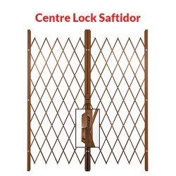 Xpanda Centre Lock Saftidor Bronze Bronze 2600mm 3200mm Width
