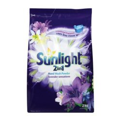 SUNLIGHT H wash Powder Lavender 2KG X 8