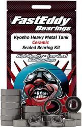 USA Kyosho Heavy Metal Tank Ceramic Sealed Bearing Kit
