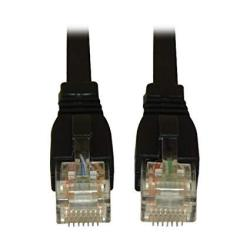 Tripp Lite Augmented CAT6 CAT6A Snagless 10G Patch Cable RJ45 Black 14-FEET N261-014-BK