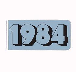 American Stel 1984 Nostalgic Retro Money Clip Rectangle