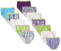 Fruit Of The Loom Little Girls' Brief Assorted 6 Pack Of 12