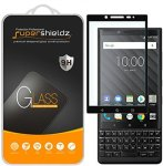 SUPERSHIELDZ 2-PACK For Blackberry KEY2 Tempered Glass Screen Protector Full Screen Coverage Anti-scratch Bubble Free Lifetime R