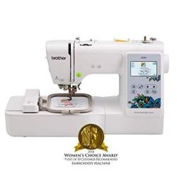 Brother Embroidery Machine PE535 80 Built-in Designs Large Lcd Color Touchscreen Display 25-YEAR Limited Warranty