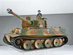 Remote Control 1 16 Advanced Metal Upgrade German Tiger I Tank Rc Ready To Run