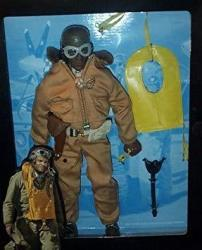 G.I. Joe - 1996 - Kenner - Classic Collection - Ww II Forces Collection - Tuskegee Fighter Pilot - Action Figure - W Accessories