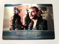 2018 Game Of Thrones Season 7 Trading Cards Valyrian Steel Metal Expansion 101 Euron Greyjoy