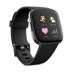 Fitbit Versa 2 Fitness Smartwatch - Black Carbon