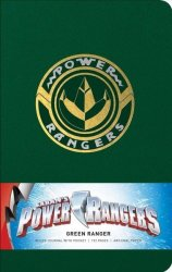 Power Rangers: Green Ranger Hardcover Ruled Journal Notebook Blank Book