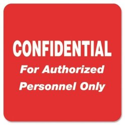 TABBIES TAB40570 - Medical Labels For Confidential
