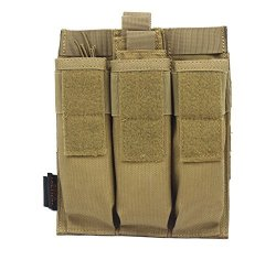 TACTICAL Yunshao Triple Mag Pouch Tan