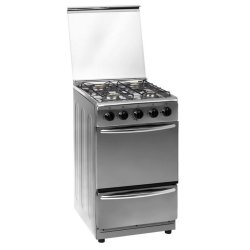 ZERO 4 Plate Stainless Steel Gas Stove