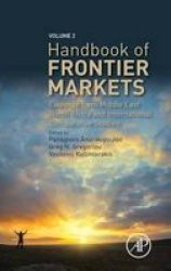Handbook Of Frontier Markets - Evidence From Asia And International Comparative Studies Hardcover