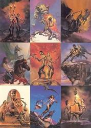 Boris Vallejo Series 1 1991 Comic Images Complete Base Card Set Of 90 Fa