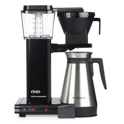 Technivorm Moccamaster Kbgt 741 Thermos Filter Coffee Machine - Black