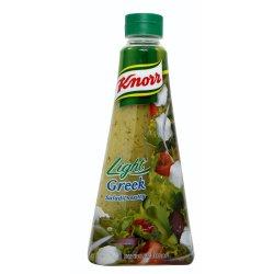 KNORR - Salad Dressing Light Greek Bottle 340ML