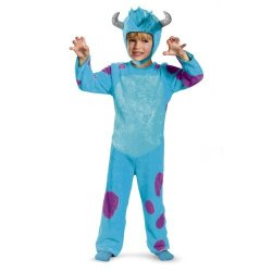 Disguise Costumes - Toys Division Disney Pixar Monsters University Sulley Toddler Classic Costume 2T