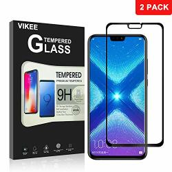 UNEXTATI Premium HD Anti Scratch Tempered Glass Screen Protector Film for Huawei Honor 8X 2 Pack Huawei Honor 8X Screen Protector